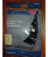 #1 Kenmore 15 in Cyclonic Upright Vacs  85259 Micron & Charcoal Cassette... - $3.99
