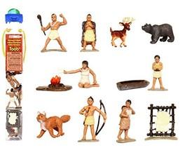Safari Ltd Powhatan Indians TOOB With 12 Historical Figurine Toys - $14.41