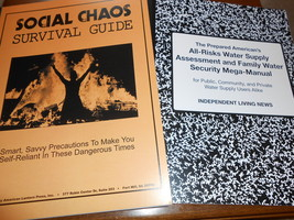 Social Chaos Survival Guide: Savvy Precautions To Become Self-Reliant+B... - $19.95