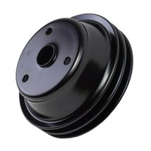 Crankshaft Pulley Double-Groove LWP Long Water Pump For Chevy SBC 262 350 400 image 8