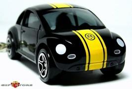 Nice Gift !! Key Chain Black Vw New Beetle Volkswagen Bug Custom Limited Edition - $18.98