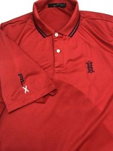 Ralph Lauren RLX Golf Country Club Polo Shirt Vented Mesh Red Stretch La... - $46.50