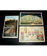3 Antique 1928-40 Posted POSTCARDS Price Hill Cincinnati OH Union Statio... - $24.69
