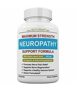 Neuropathy Support Supplement - Nerve Pain Relief With 600 Mg Alpha Lipo... - $69.99