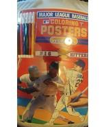 1990 Major League Baseball Coloring Poster Big Hitters - $210.38