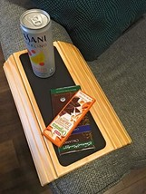 Couch arm Table + Sofa Arm Tray - Flexible Foldable Coaster Tray. Perfec... - $31.55