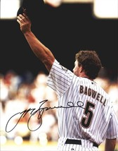 Jeff Bagwell authentic signed baseball 11X14 photo W/Cert Autographed A0049 - $109.95