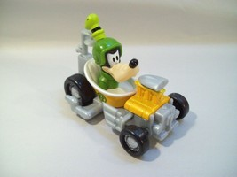 DISNEY MICKEY & THE ROADSTERS GOOFY RACER DIE-CAST PLASTIC CAR 2016 - $9.75