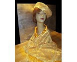GOLDEN YELLOW BERET AND SCARF SET! image 6