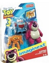 Fisher Price Imaginext Toy Story Lotso with Sparks & Chuck - $16.99