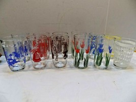 Swanky Swigs Glasses  Different Patterns & Colors  Your Choice Retro Tum... - $9.77