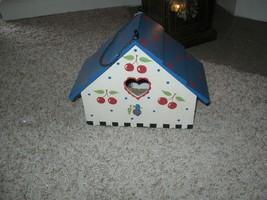 Mary Engelbreit Rare Wooden Birdhouse New - $85.00