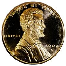 1909 S V.D.B   UNC  LINCOLN WHEAT CENT 1 OZ COPPER  . 111 - $4.85