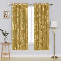 Deconovo Blackout Curtain Room Darkening Thermal Insulated Draperies Gro... - $46.82
