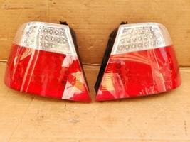 04-06 BMW E46 M3 325Ci 330Ci Coupe 2dr LED Taillight Tail Lights Set L&R image 1