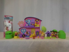Cabbage Patch Kids Playset Lil Patch Vet Center RARE PET Play House CPK  + Dolls - $82.19