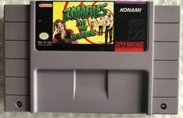 ☆ Zombies Ate My Neighbors (Super Nintendo 1994) RARE SNES AUTHENTIC Gam... - $45.00