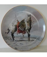 Nez Perce War Pony by Perillo Collector Plate Vague Shadows - $29.99