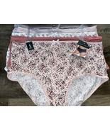 Laura Ashley ~ Women's Brief Underwear Panties Floral 5-Pair Polyester (... - $28.05