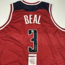 Autographed/Signed BRADLEY BEAL Washington Red Basketball Jersey JSA COA... - $114.99