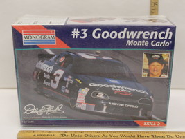 1/24 1995 Monogram Goodwrench Monte Carlo #3 Dale Earnhardt Sealed #2447... - $12.61