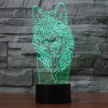 3D LED Abstract Tree Wolf Modelling NightLight 7 Colors Changing Desk La... - $39.99