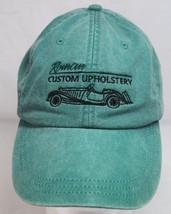 Roman Custom Car Upholstery Cap/Hat, Slide Clip, Green Simi Valley California - $18.99