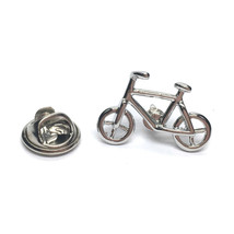 silver Bike Cycle   pin badge lapel Badge / tie pin, Lapel Pin Badge, boxed