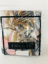 Ehrman Tapestry KAFFE FASSETT Victorian Cats 16.5 x 12 New/Opened 1989  - $124.73