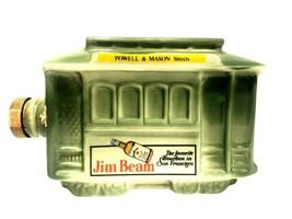 Jim Beam San Francisco Trolley Powell & Mason Decanter Empty 1968 Good C... - $19.75