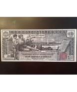 Reproduction $1 Educational 1896 Silver Certificate George & Martha Washington - $2.96
