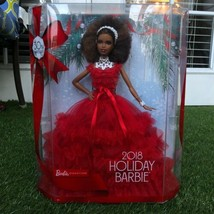 Holiday Barbie Dolls 2018 African American New In Box   - $34.64