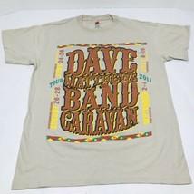 Dave Matthews Band Adult Small T-Shirt 2011 Caravan Tour Concert Tee RARE - $24.74