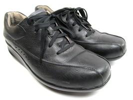 Aravon  New Balance Laney Womens Black Leather Lace Up Oxfords Size 9.5 B - $25.74