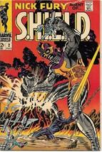 Nick Fury, Agent of S.H.I.E.L.D. Comic Book #2 Marvel Comics 1968 VERY GOOD - $16.39