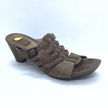 Clarks Artisan Heels Women Size 7.5 Open Toe Mules Slides - $30.00