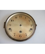 "RARE VINTAGE URGOS CLOCK DIAL FACE WITH GLASS - 6 1/2"" IN DIAMETER - $17.96"