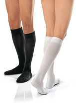 JOBST Active Wear Knee-High Socks, 15-20mmHg, Small, White, 1/Pair, JOB1... - $38.32