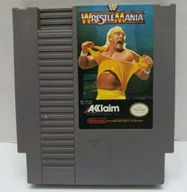 WWF WrestleMania (Nintendo Entertainment System, 1988), Tested and Working  - $4.99