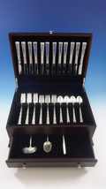 Madrigal by Lunt Sterling Silver Flatware Service For 12 Set 51 Pieces - $2,560.73