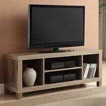 Generic- Cross Mill TV Stand Rustic Oak, 47.24 x 15.75 x 19.09 Inches - $66.58