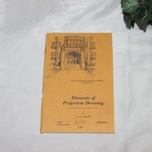 PROJECTION DRAWING VINTAGE INTERNATIONAL CORRESPONDENCE SCHOOLS HOME STU... - $8.97
