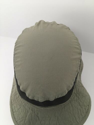 Vintage Columbia Sun Hat USA Packable Vented Paddling Hiking Outdoor Medium NICE