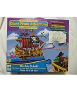 Puzzle Doubles Giant Pirate Adventure 30 piece Floor Puzzle - $12.73