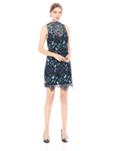 Guess Dress Midnight Magic Floral Embroidered Sz 0 NEW NWT 228 - $44.80