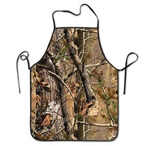 YISHOW Hunting Camo Adjustable Bib Apron - Washable Unisex Cooking Kitch... - $19.93