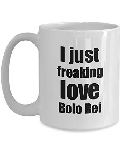 Primary image for Bolo Rei Lover Mug I Just Freaking Love Funny Gift Idea for Foodie Coffee Tea Cu