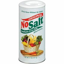 NoSalt Original Sodium-Free Salt Alternative, Potassium 11 oz, No Salt S... - $7.17