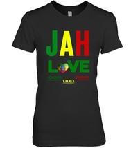 Jah Love Ethiopia Love Rastafari Love One Love Rasta T Shirt - $19.99