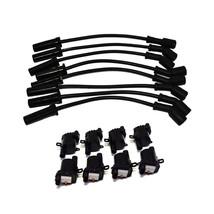 """Chevrolet GMC GM LS LSX LS1 LS2 LS3 LS6 8 Coils & 11"""" 8mm Spark Plug Wires D585 image 1"""